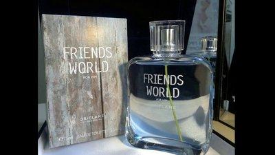 Туалетная вода Friends World For Him Орифлейм