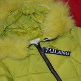 бесподобное зимние пальто для девочки