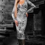 Стильное и элегантное платье-футляр 888