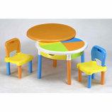 Круглый стол и два стула Tega Baby MT-002