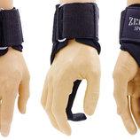 Крюки ремни атлетические для уменьшения нагрузки на пальцы 11005 2 лямки в комплекте