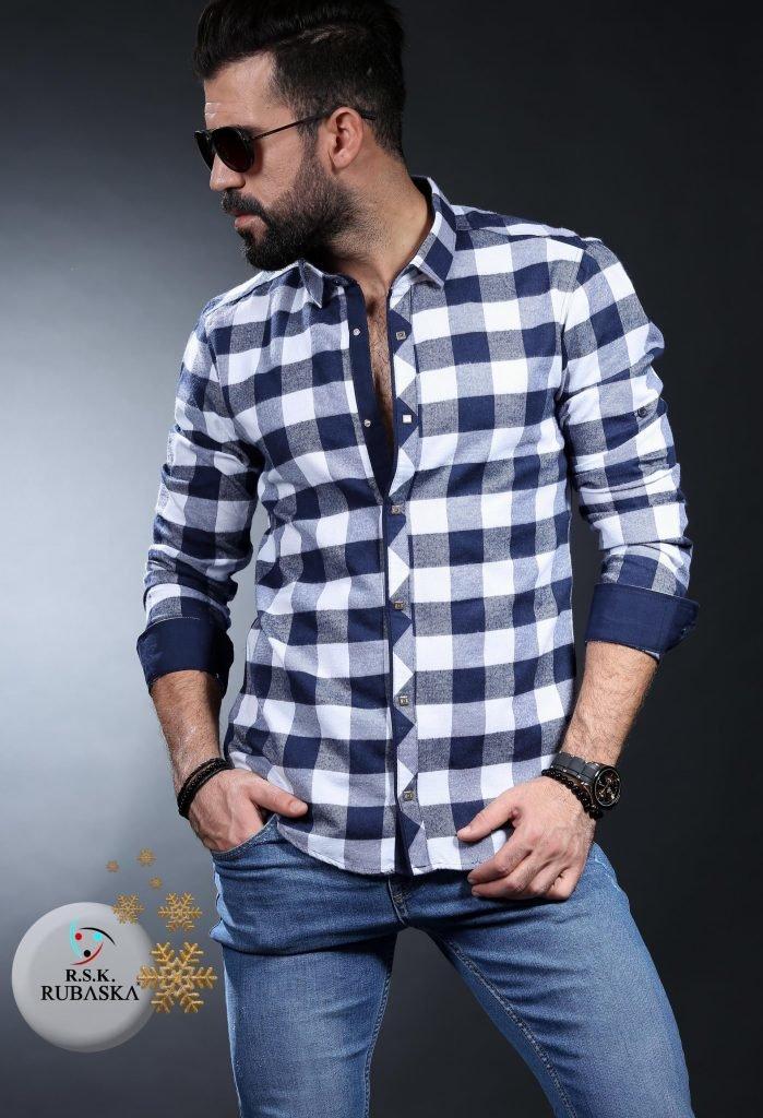 553e2944f5b Продано  Рубашка 35-31-001 Турция Кашемир-Утепленная - рубашки в Одессе