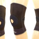 Фиксатор коленного сустава с открытой коленной чашечкой наколенник Asic 610 размер M/L