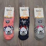 Детские махровые носки на девочку фирмы Bross