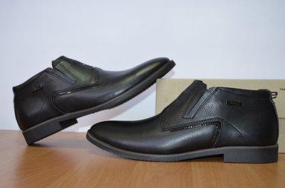демисезонные мужские ботинки на байке