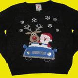 Новогодний свитер,размер XL,Merry Christmas