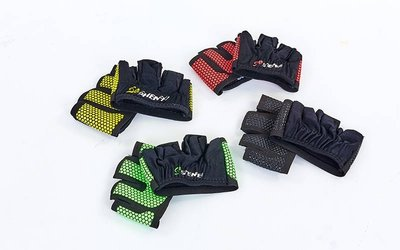 Перчатки спортивные многоцелевые WorkOut 8038 4 цвета, размер M-XL