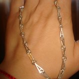 Рокко-Барокко, цепь, серебро 925 Длина 45 и 50 см 50 см, вес 14,08 грамм, цена 680 грн 45 см, вес 12