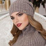 Комплект «Герда» шапка-колпак и шарф-снуд Braxton, цвета разные