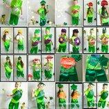 Карнавальный костюм Огурец,помидор,мухомор,буряк,морковка,чеснок,лук,тыква, кабачок,дыня,вишня
