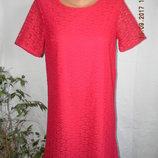 Кружевное платье прямого кроя george