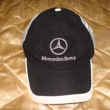 кепка шапка Mercedes-Benz оригинал хлопок регулируемая идеал