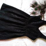 Платье черное змеиный принт колокол с отливом