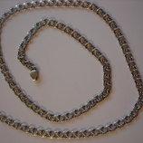 Цепочки плоский бисмарк. серебро 925 фото 1-3 - длина 60 см, вес 18,91 грамм, цена 780 грн ширина