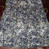Літня юпка з кишенями Marks&Spencer. Летняя юбка с карманами.