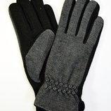 Женские кашемировые перчатки на плюшевой подкладке