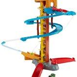 Fisher-Price Трек томас крученый спуск Thomas Minis Twist-n-Turn Stunt Train Playset