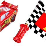 Disney машина Молния Макквин звук тачки Cars Flag Finish Lightning McQueen