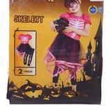 Маскарадный костюм скелета на Хэллоуин 4-6 лет