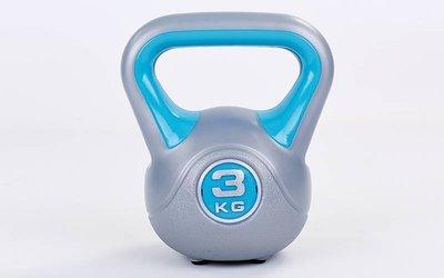 Гиря пластиковая 5734-3 вес 3кг