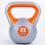 Гиря пластиковая 5734-8 вес 8кг