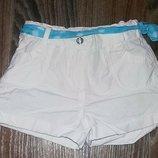 Белоснежные шорты с пояском Young Dimension, 116, 5-6 л.