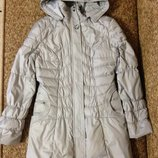 Куртка женская зимняя,цвет серый