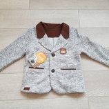 Очень крутой пиджак Бемби р.98-116