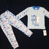 Прикольная пижамка Фламинго р.98-104