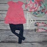 12 - 18 месяцев 86 см фирменная майка блузка блуза рубашка туника для модниц