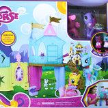 Игровой набор Замок My little Pony , свет, 4 пони, аксессуары Подробнее https //made4kids.com.ua/p