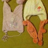 Две шапки за 100грн