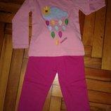 Стильные спортивные штаны,девочка 1-8лет ,хлопок,Турция ,отличное качество малиновые .