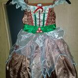 Карнавальное платье Лесной Феи.