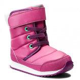Детские зимние сапоги Reebok Snow Prime - розовые
