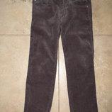 Фирменные микровельветовые штаны Geox на 4 года, 104р.