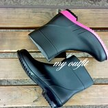 Женские резиновые сапоги Литма Літма Litma ботинки сапоги резиновые