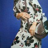 Платье туника шифон. Длинный рукав
