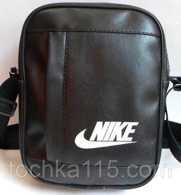 ca381e7f8a57 Мужская сумка барсетка на плече найк Nike мессенджер чераня: 189 грн ...