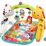 Fisher-Price Развивающий коврик Игровой центр 3 в 1 Newborn-to-Toddler Play Gym Rainforest