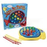 Pressman Toy настольная игра рыбалка Let's Go Fishin' Game
