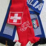 Эксклюзивный шарф Puma оригинал, Федерация футбола Италия Швейцария