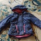 Красивая деми курточка-парка George на 12-18 месяцев