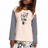 Качественная женская пижама 685 Autumn от Cornette Польша