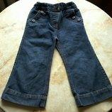 Брючки джинсовые на девочку фирмы George на возраст 2-3 года размер 92-98