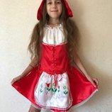 Красная шапочка,карнавальный костюм Красная шапочка,детский костюм Красная Шапочка