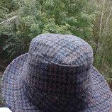 Элегантная шляпа из чистой шерсти от бренда Wegener.