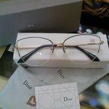 Модные очки-оправы в стиле Dior