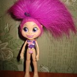 кукла тролль розочка Hasbro