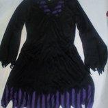 Карнавальное новогоднее платье пиратки, разбойницы ведьмы размер 20-22